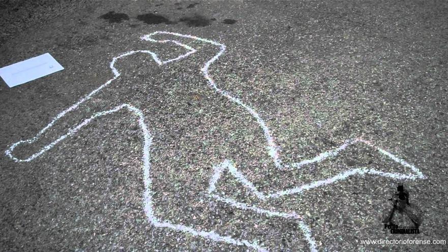 El mito del trazado del contorno del cadáver en las escenas del crimen –  Directorio Forense
